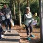 Im Kurpark in Baden hat es sechs Posten, welche die Orientierungsläufer finden müssen. Bild: zvg
