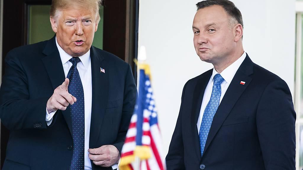 Trump will Truppen teilweise nach Polen verlegen