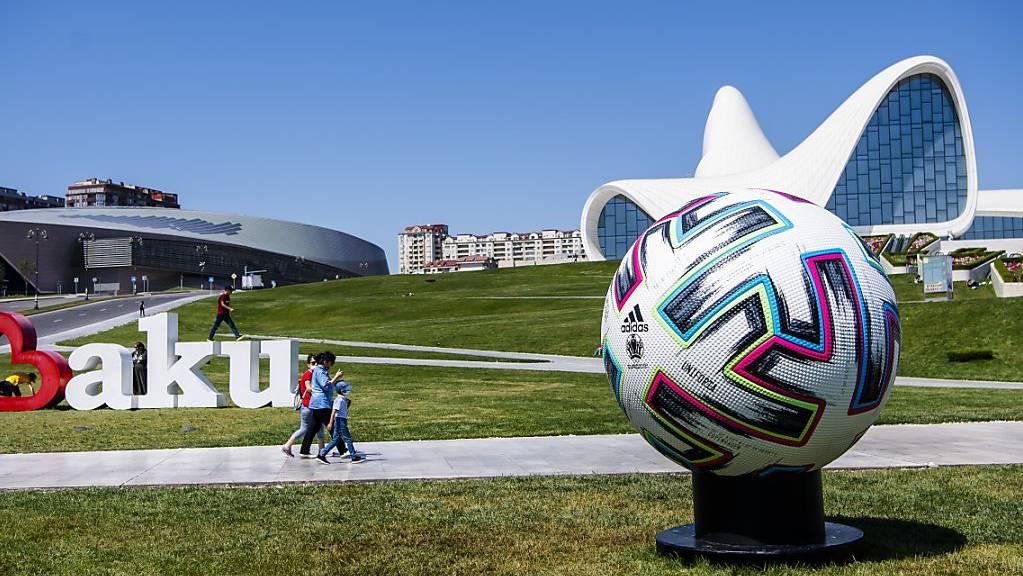 Euro 2020 Fussball Baku