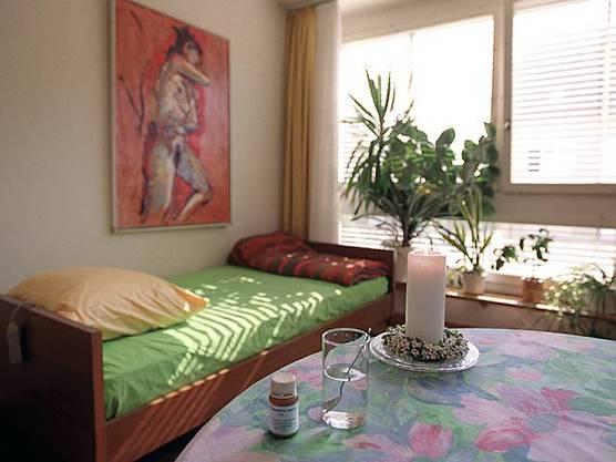 Ein Zimmer der Sterbehilfeorganisation Dignitas (Archiv)