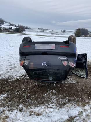 Ein Autofahrer verlor die Herrschaft über sein Fahrzeug.