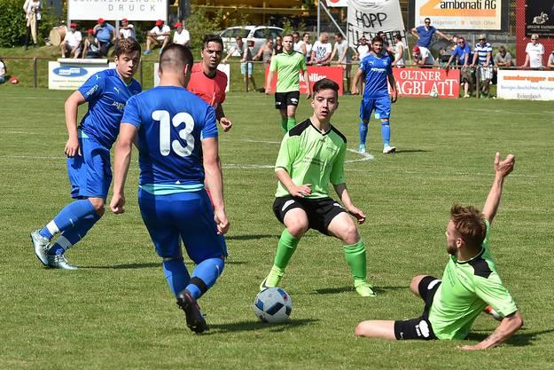 Eindrücke vom Final der A-Junioren zwischen Härkingen und Fulenbach.