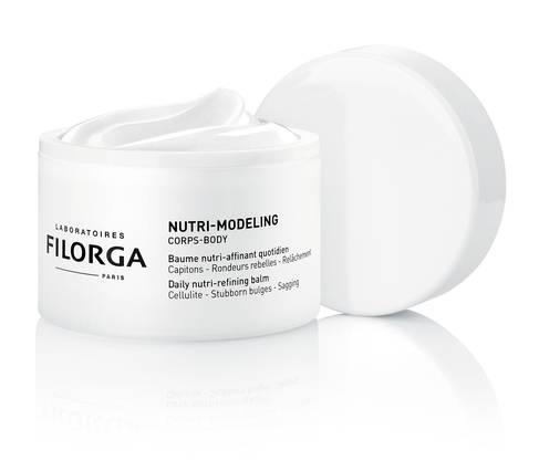 Gut geformt : Die Bodycreme Nutri Modeling von Filorga macht das Hautbild mit der Zeit seidiger und glatter. Circa 45 Fr., im Handel.
