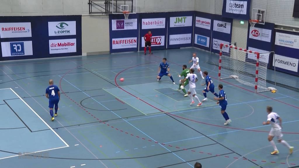 Futsal – klein, aber oho! Berner Hallenfussball-Mannschaft spielt in Champions League