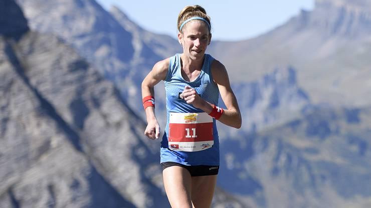 Martina Strähl aus dem Kanton Solothurn gewinnt den Jungfraumarathon – bereits zum zweiten Mal.