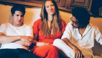Fast schon ein bisschen eine Lockdown-Supergroup: Faber, Sophie Hunger und Dino Brandao (von links).