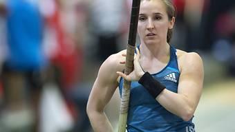 Nicole Büchler scheiterte an der neuen Rekordhöhe knapp