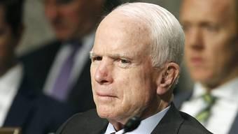 Der 80-jährige republikanische Senator John McCain aus Arizona ist an Krebs erkrankt. (Archivbild)