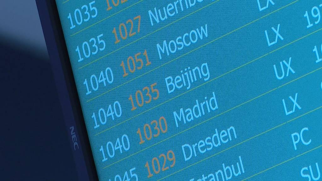 Vorerst letzter Swiss-Flug aus China in Zürich gelandet