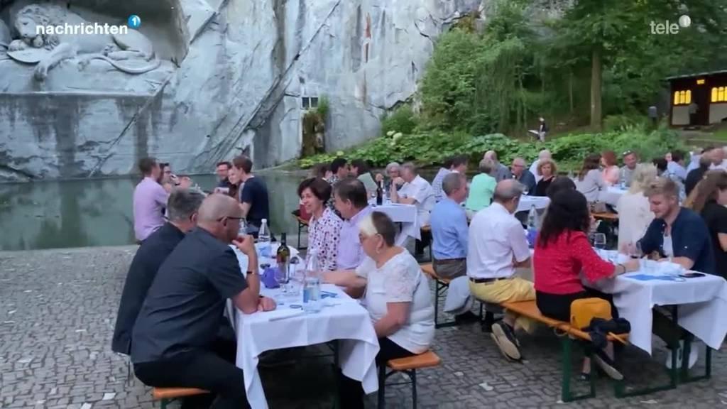 Aktion Luzern zu Tisch