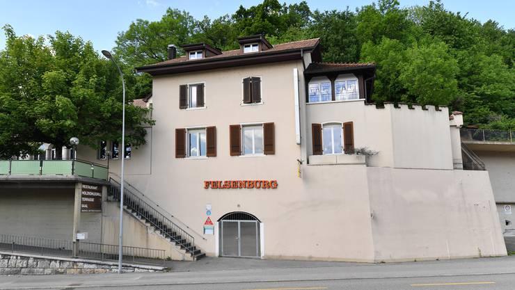 Im ehemaligen Restaurant Felsenburg soll es Wohnungen geben.