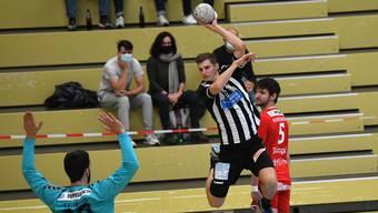 Der RTV Basel feiert den dritten Sieg der Saison.