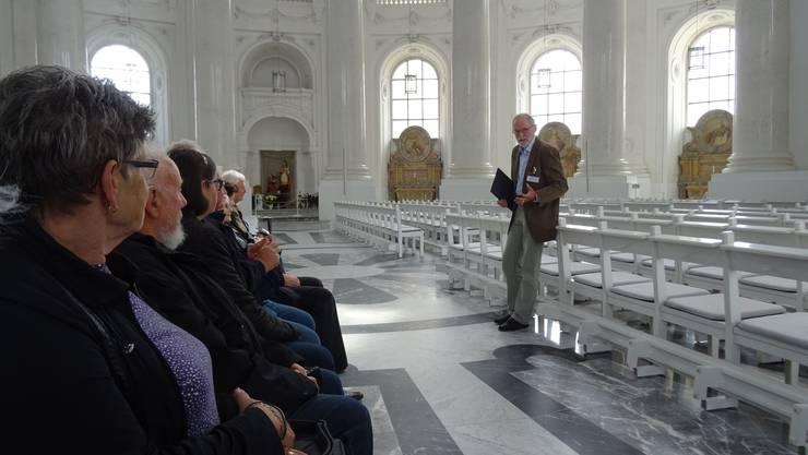 Führung im Dom von St. Blasien