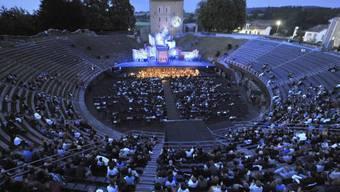 So sieht es am Opernfestival aus, wenn kein Gewitter droht (Archiv)
