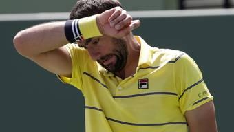 Ausgeschieden: Marin Cilic kommt seit den Australian Open nicht mehr auf Touren.