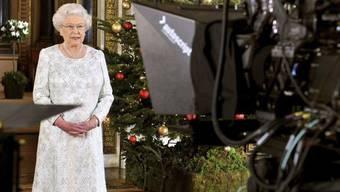 Königin Elizabeth II. hält ihre Weihnachtsansprache