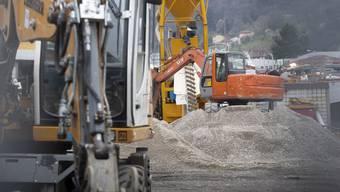 Der Kanton Tessin hat die Baustellen stillgelegt.
