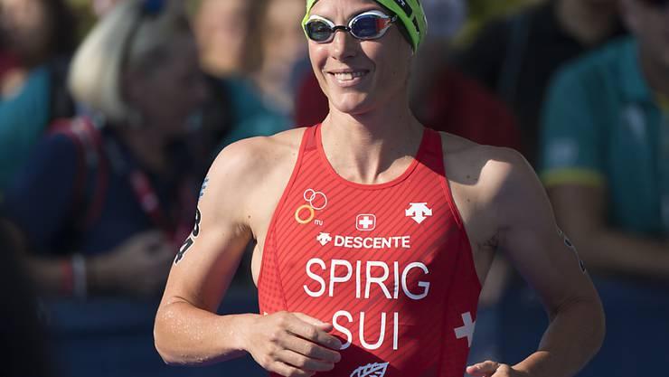 Nicola Spirig wird Zehnte am Grand Final in Lausanne