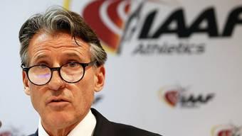 Sebastian Coe präsidiert den Leichtathletik-Weltverband IAAF, der an der Sperre gegen Russland festhält