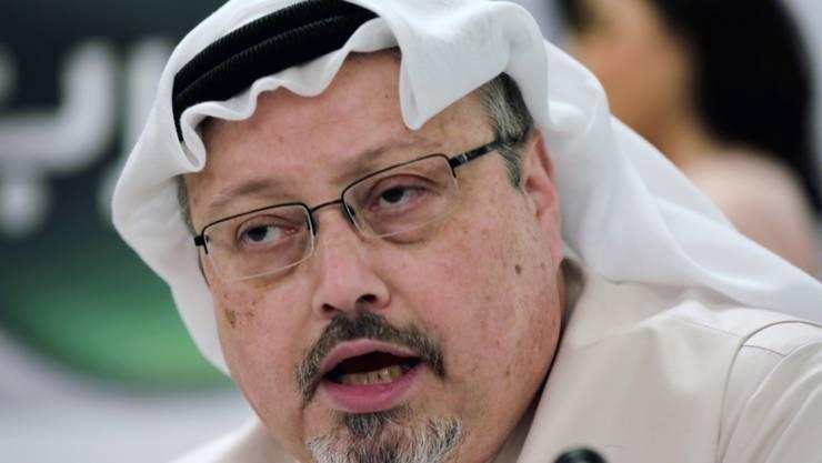 Jamal Khashoggi im Dezember 2014. Rund anderthalb Jahre nach dem Mord an dem saudischen Regimekritiker und Journalisten in Istanbul ist in der Türkei Anklage gegen 20 Verdächtige erhoben worden.