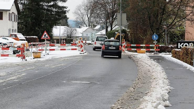 Das Einbahnregime auf der Baslerstrasse in Laufenburg soll per 18. Dezember aufgehoben werden.