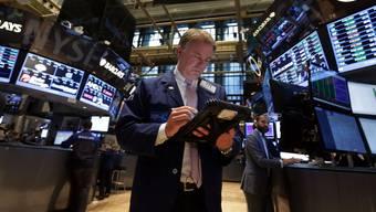 Händler an der Börse in New York.