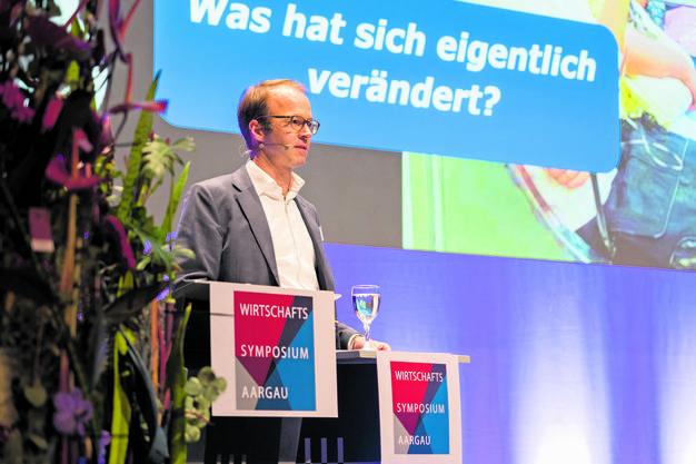 Axel Wüstmann, CEO von CH Media, zu der auch dieses Onlineportal gehört.