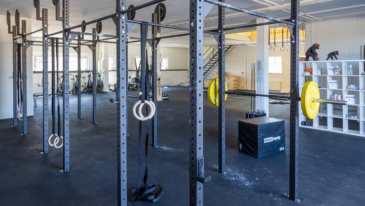 Das Atomic Monkey Crossfit in Gretzenbach