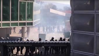 Nach den Krawallen am 10.April kursierten im Internet mehrere Videos, welche die heftigen Ausschreitungen zeigten.Youtube/Screenshot