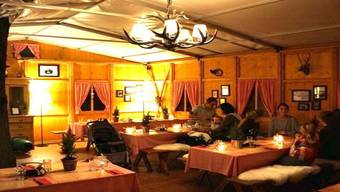 Auch im Chalet beim Blue City Hotel gibt es ein Fondue. zvg