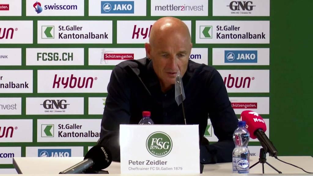 Der FCSG-Trainer zum Spiel gegen Luzern