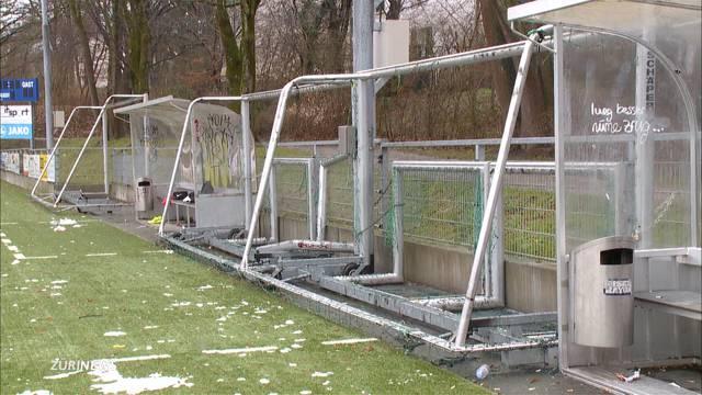 Vandalen wüten auf Sportplatz Heuried