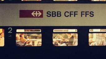 Der Bahnverkehr stand zwischen Brugg und Frick für kurze Zeit still. (Symbolbild)