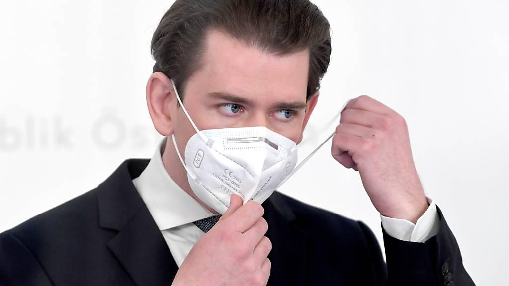 Kurz: In Österreich bald jeder dritte Impfwillige mit Impfung
