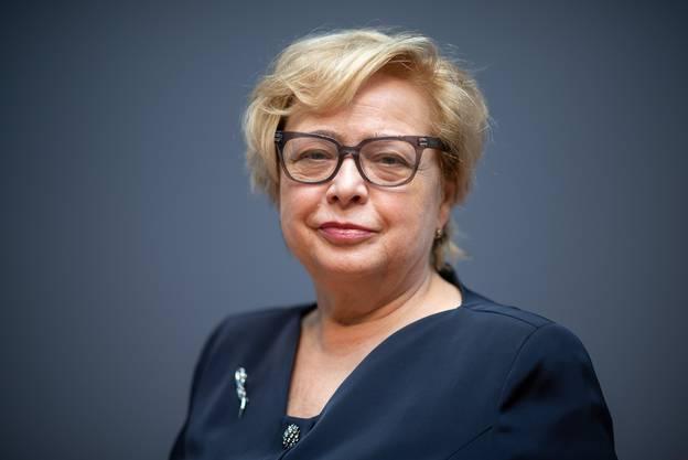 Malgorzata Gersdorf hat am Donnerstag ihren letzten Arbeitstag. (Bild: Keystone)