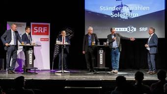 Ständeratspodium 2019 in der Kulturfabrik Kofmehl