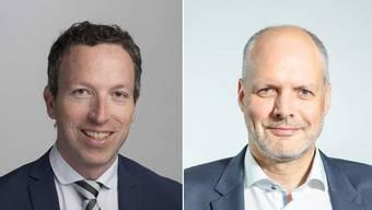 Patrik Müller und Rolf Cavalli
