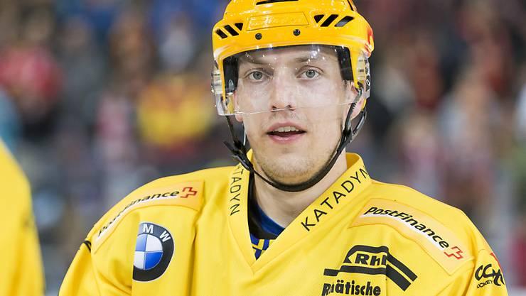 Perttu Lindgren bleibt langfristig dem HC Davos erhalten