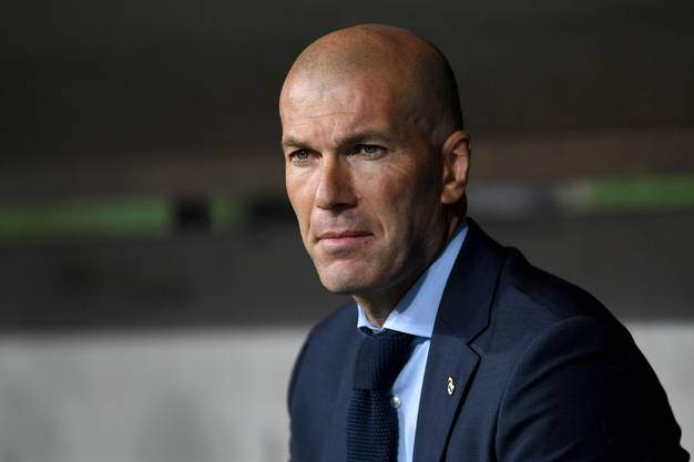 Zinédine Zidane, bis im Sommer noch Trainer bei Real Madrid, wurde am Montag in Basel gesichtet.