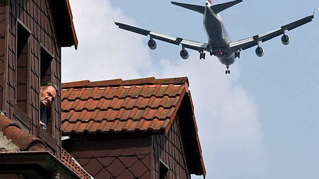 Deutschland und Schweiz wollen Fluglärm-Streit lösen (Archiv)