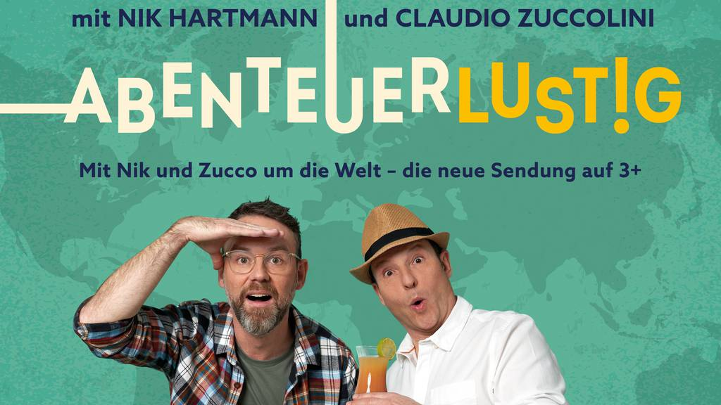Mit Nik Hartmann und Claudio Zuccolini um die Welt