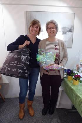 v.l.: Iris Schönbucher, Ruth Eugster