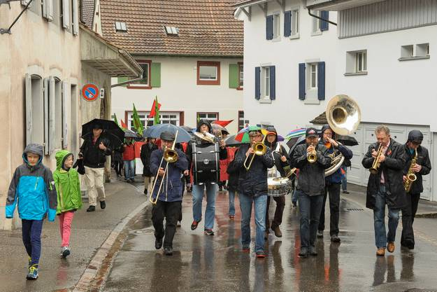 1.-Mai-Demo in Sissach