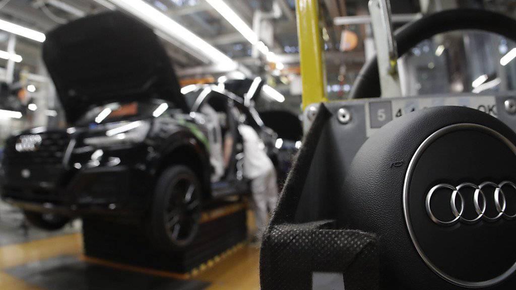 In den USA sind vier Manager des Audi-Konzerns angeklagt worden. (Symbolbild)