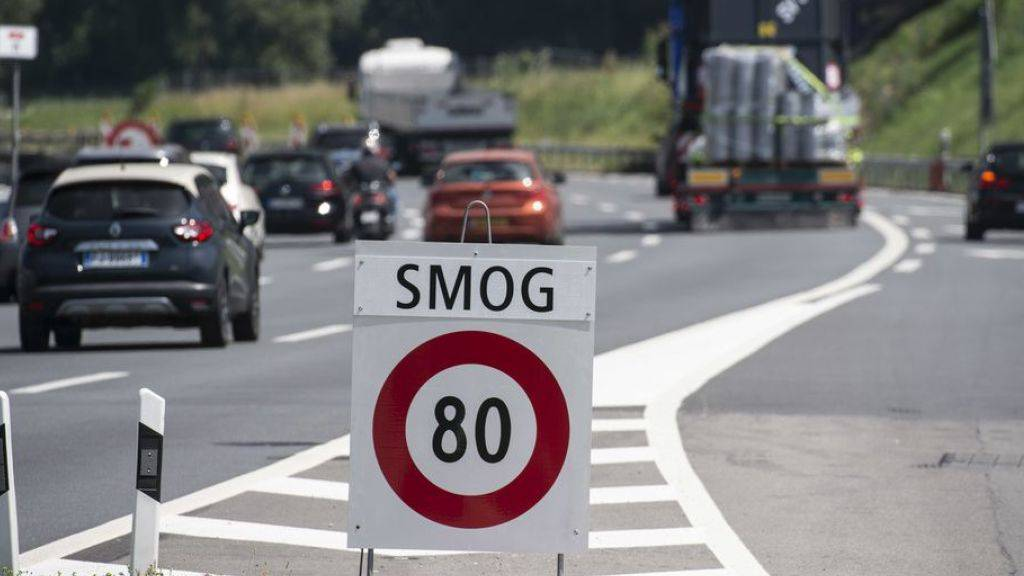 Luftqualität in der Schweiz wird besser