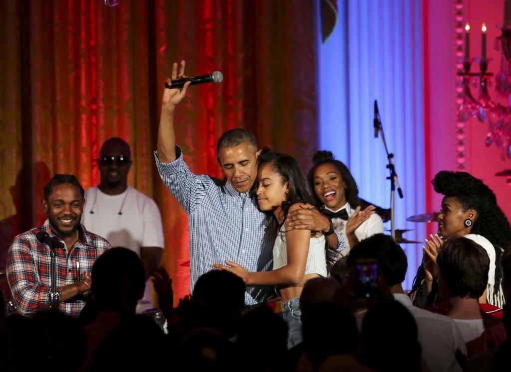 Familie Obama wie sie leibt und lebt (© GettyImages)