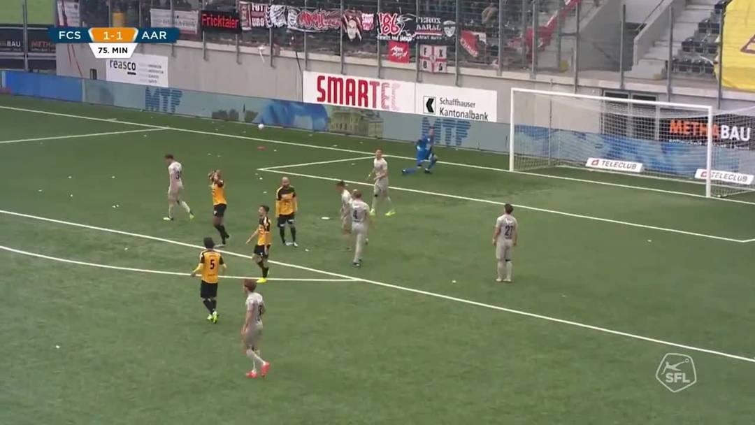 Challenge League 18/19 Runde 33: FC Schaffhausen - FC Aarau 11.5.19 - die Matchhighlights