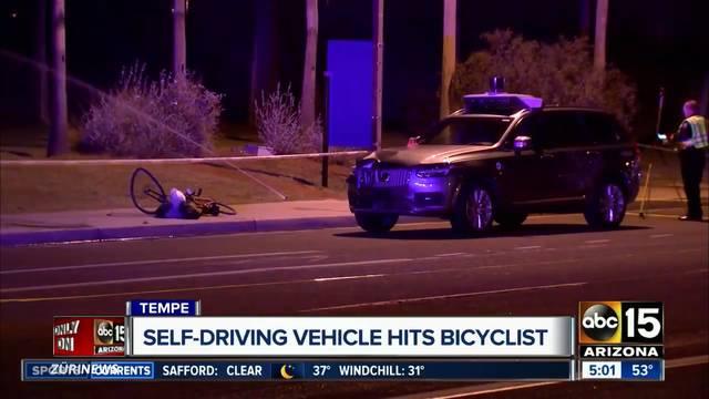 Fussgängerin von selbstfahrendem Uber getötet