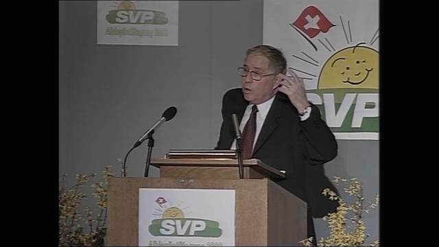 Blocher-Rundum-Backpfeife (18.1.2002)