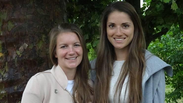 Samantha Schmied (l.) und Ladina Solèr (r.).